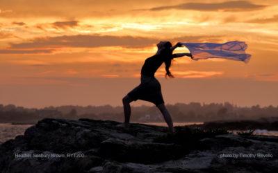 Meet Heather – teaching gentle yoga in March!